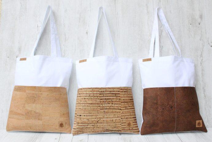 Shopper BAGs weiß sand