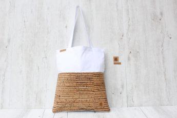 Shopper BAGs weiß gestreift