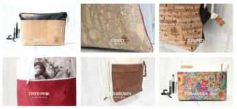 Produkte mit Kork-Leder