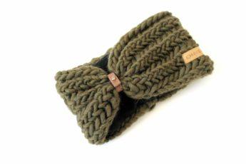 Stirnband waldgrün