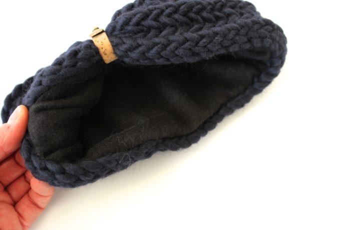 Stirnband marineblau