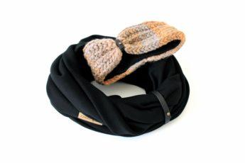 Stirnband Schal Set