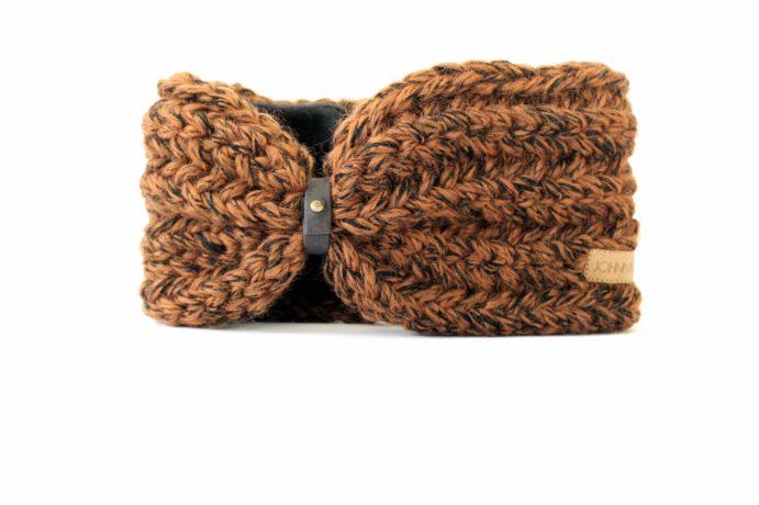 Stirnband schwarzbraun