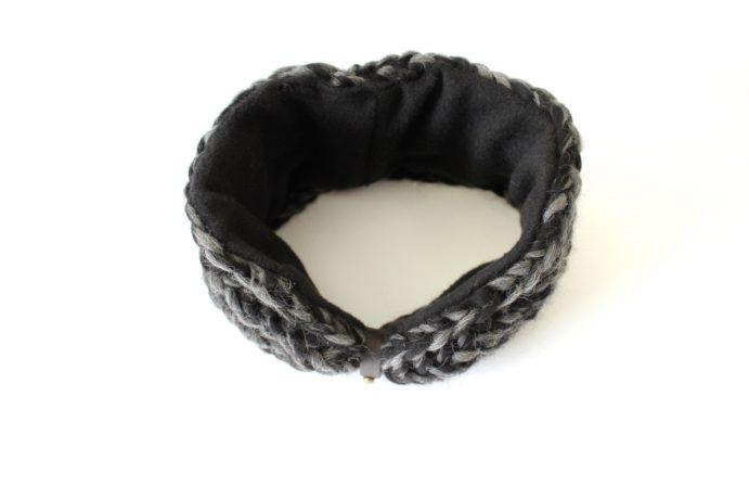 Stirnband schwarzgrau