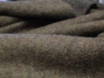 Gekochte Wolle WALKLODEN grau