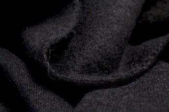 Gekochte Wolle WALKLODEN schwarz