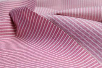 Jeans gestreift rosa weiß