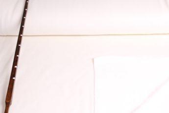 Jersey Stoff SWEAT weiß