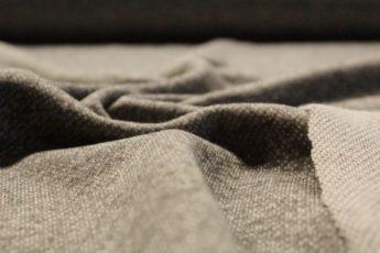 Jersey Stoff grau meliert