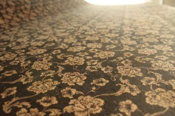 Kork BLACK FLOWERS 1 Stück 35 cm x 25 cm