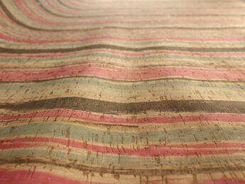 Kork COLORED STRIPES 1 Stück 35 cm x 25 cm