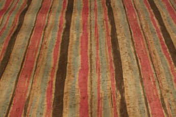 Kork COLORED STRIPES 1 Stück 35 cm x 25 cm