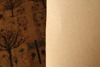 Kork WELCOME SPRING 1 Stück 35 cm x 25 cm