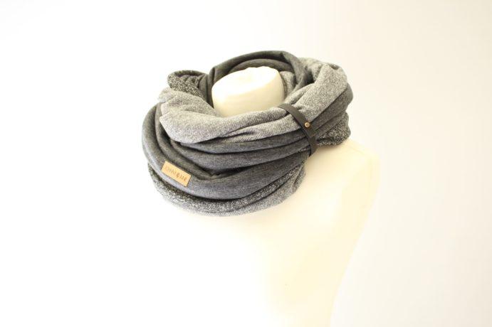 Loop Männer Frauen grau hellgrau