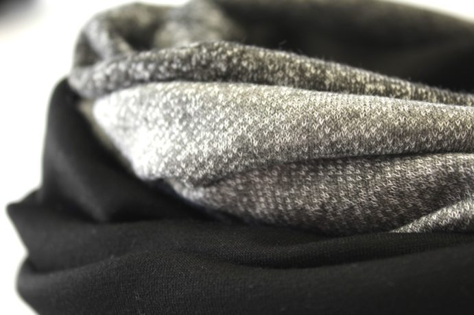 Loop schwarz grau hellgrau
