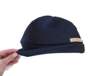 Mütze Beanie Männer Frauen blau