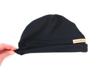 Mütze Beanie Männer Frauen schwarz