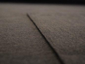 Woll Stoff schwarz braun