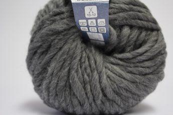 Wolle STRICKEN grau