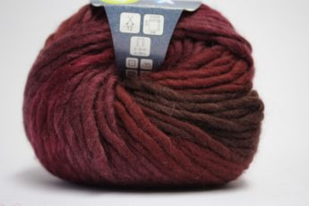 Wolle STRICKEN burgund