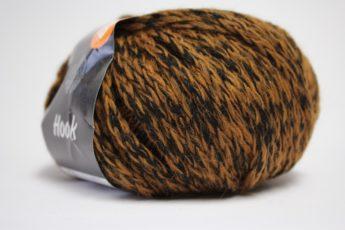 Wolle STRICKEN schwarzbraun