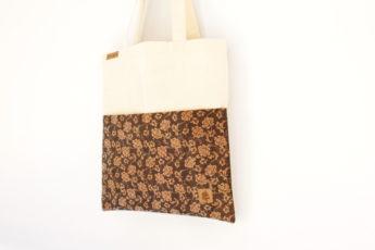 Tasche BAGs sand Blumen