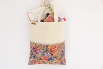 Festival bag ZIP sand primavera
