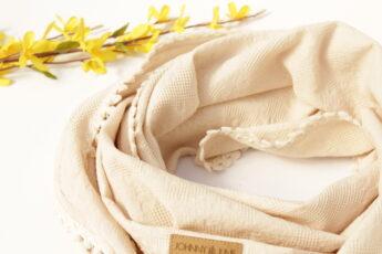 Sommer Schal sand Rosen